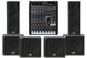 Big Dudes Sound Rental Big Dude Package