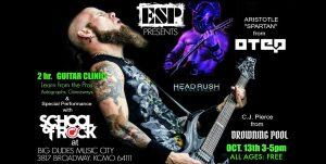 ESP Guitars and Big Dudes Guitar clinic
