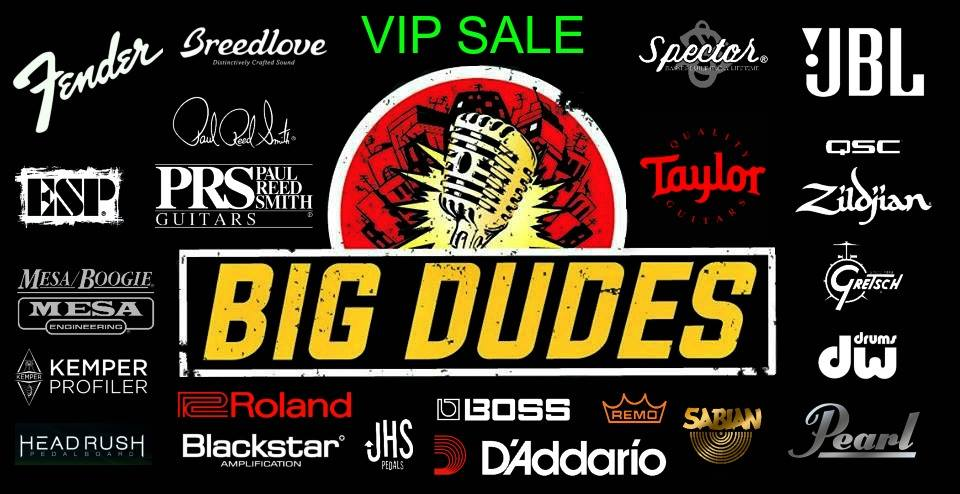Big Dudes Music City VIP Sale