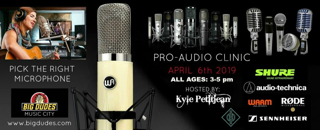 "Pro Audio Clinic ""Pick the right Microphone"""